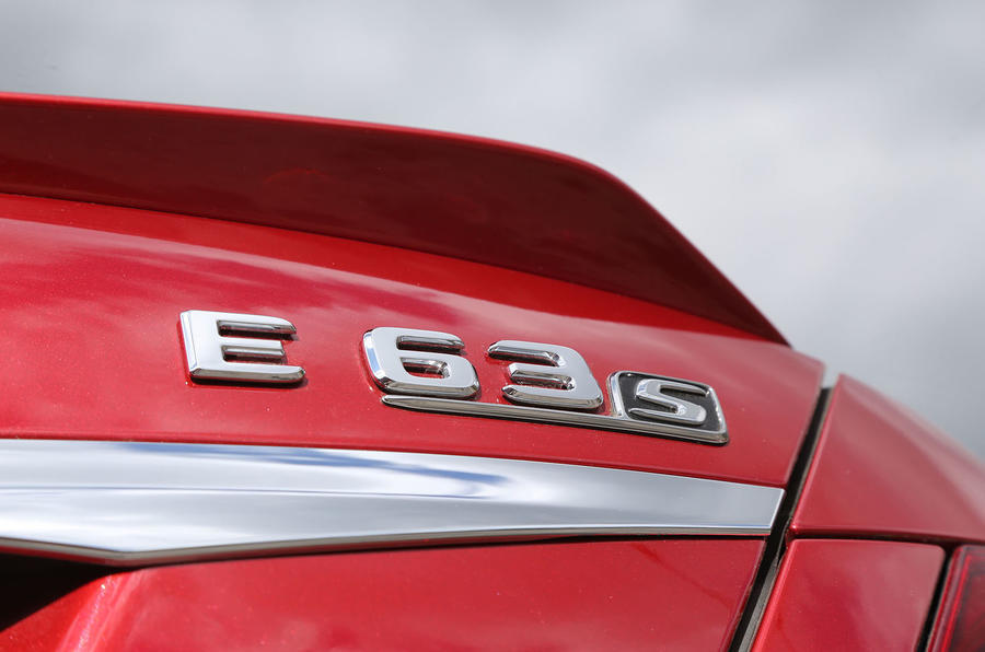 Mercedes-AMG E 63 S badging