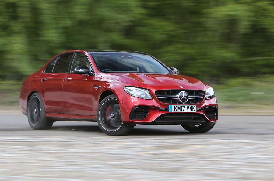 4 star Mercedes-AMG E 63