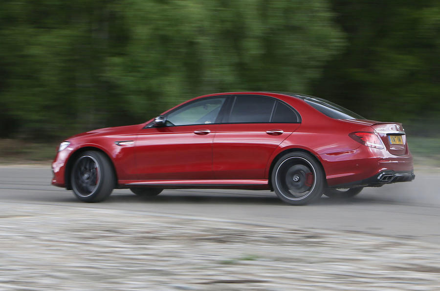 Mercedes-AMG E 63 side profile