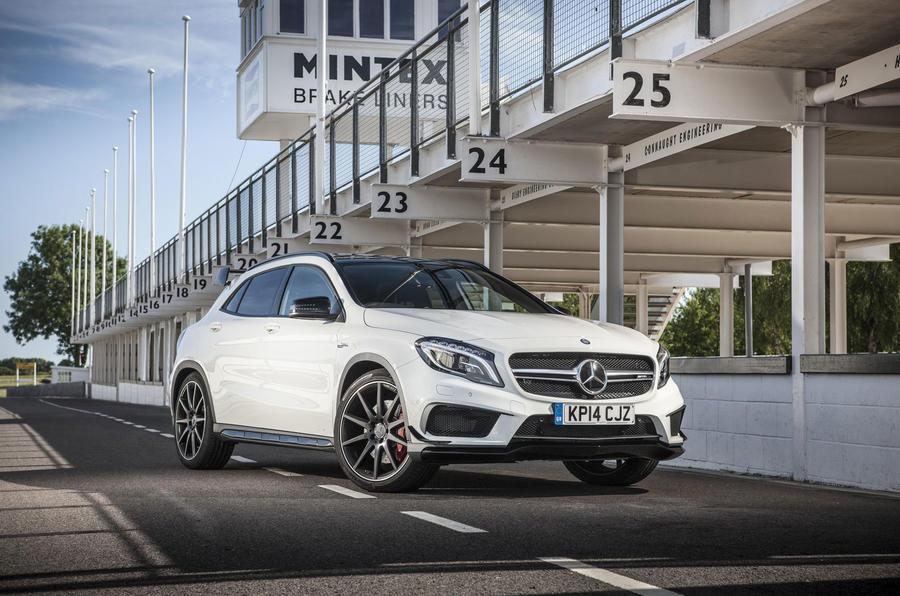 4 star Mercedes-AMG GLA 45