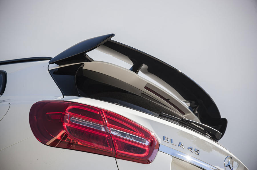 Mercedes-AMG GLA 45 rear spoiler