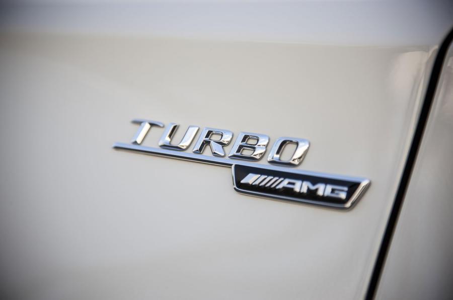 Mercedes-AMG GLA 45 side badging