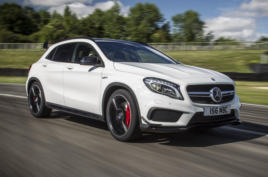 mercedes amg gla 45 review 2017 autocar. Black Bedroom Furniture Sets. Home Design Ideas
