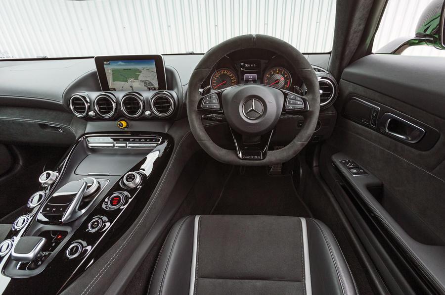 Mercedes-AMG GT R dashboard