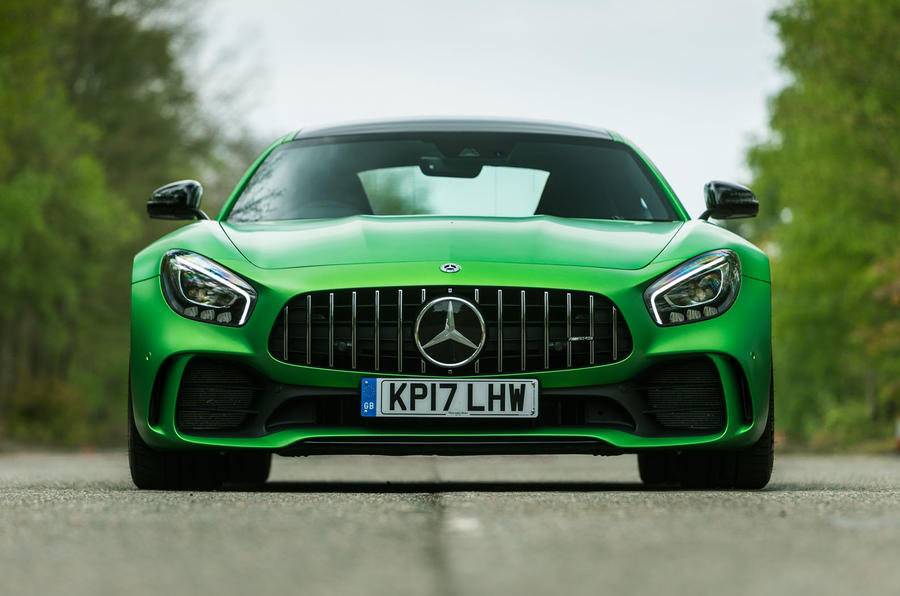 Mercedes-AMG GT R front end