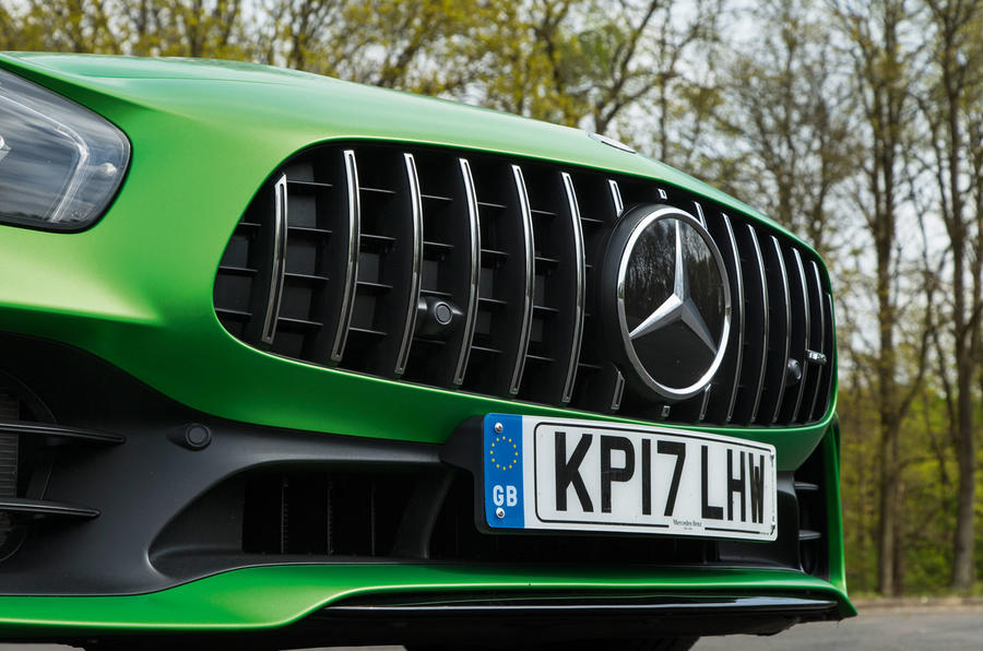 Mercedes-AMG GT R front grille