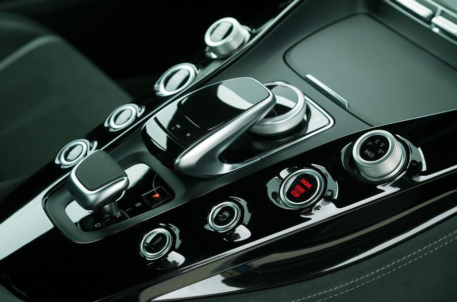 Mercedes-AMG GT R infotainment controller