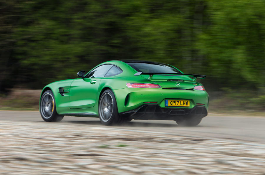 Mercedes-AMG GT R rear cornering