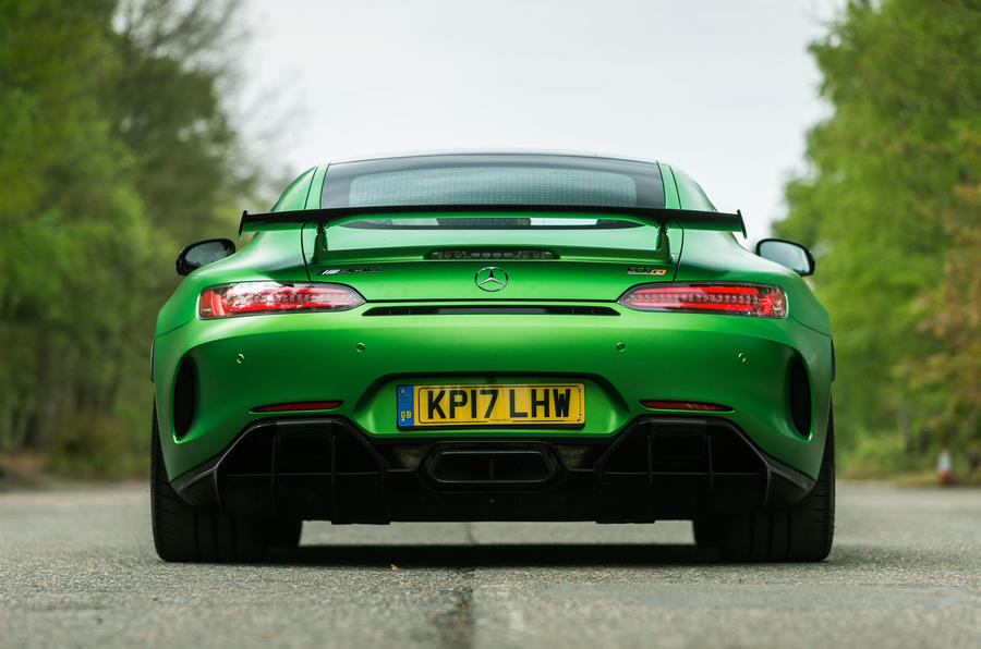 Mercedes-AMG GT R rear end