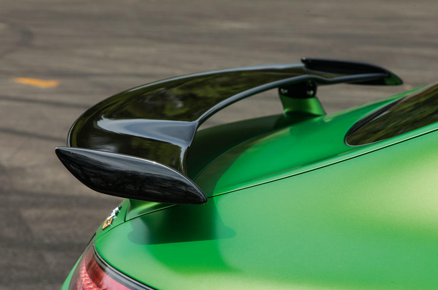 Mercedes-AMG GT R rear wing