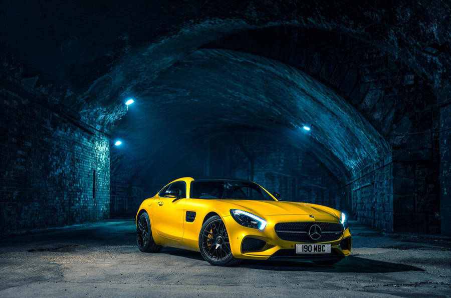 Mercedes amg gt review 2018 autocar for Star motor cars mercedes