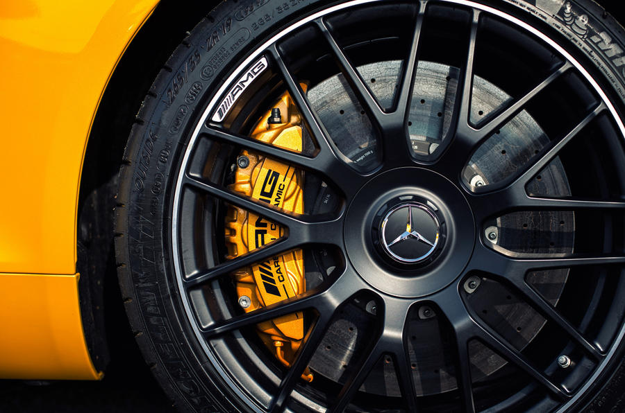 Mercedes-AMG GT S alloy wheels