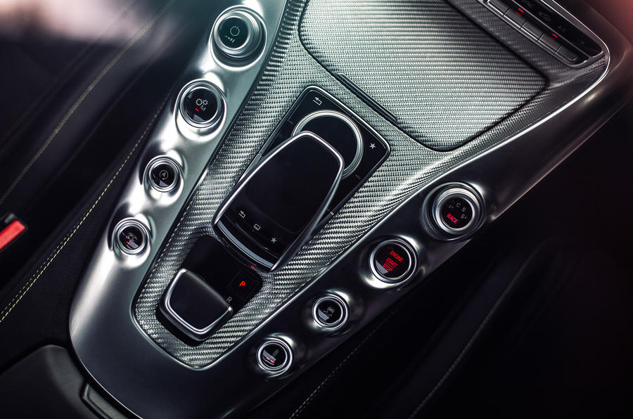 Mercedes-AMG GT S centre console