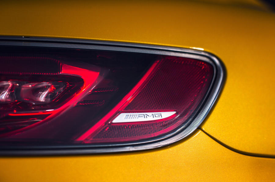 Mercedes-AMG GT S rear lights