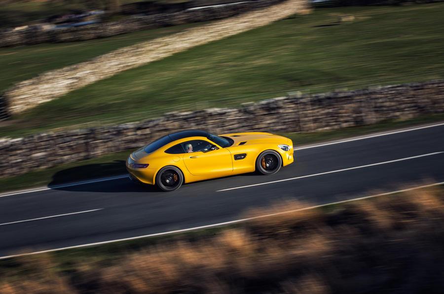 Mercedes-AMG GT S side profile
