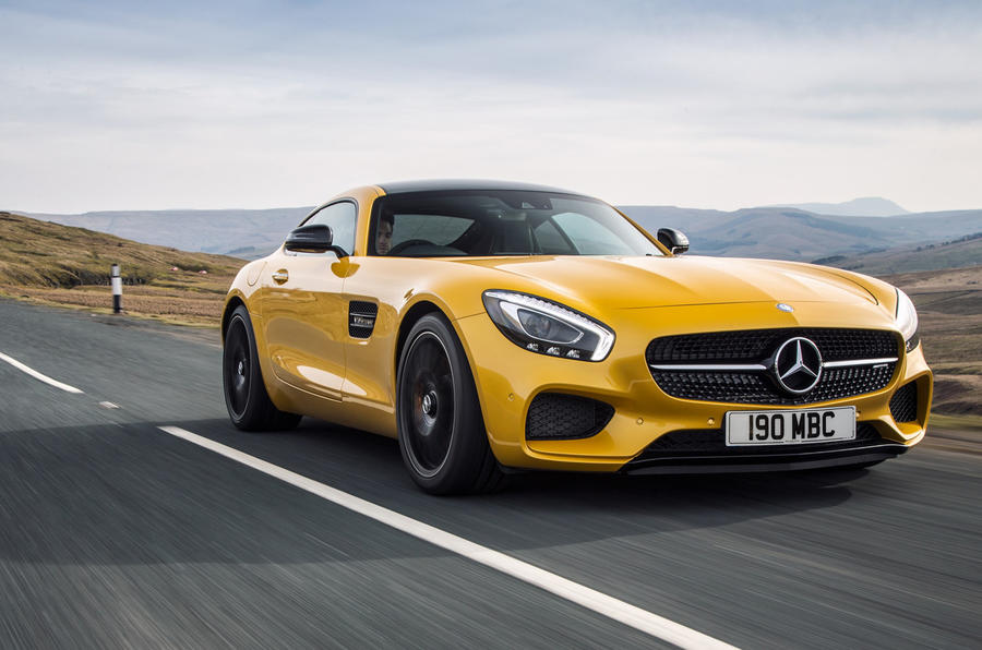 Mercedes AMG GT S ...