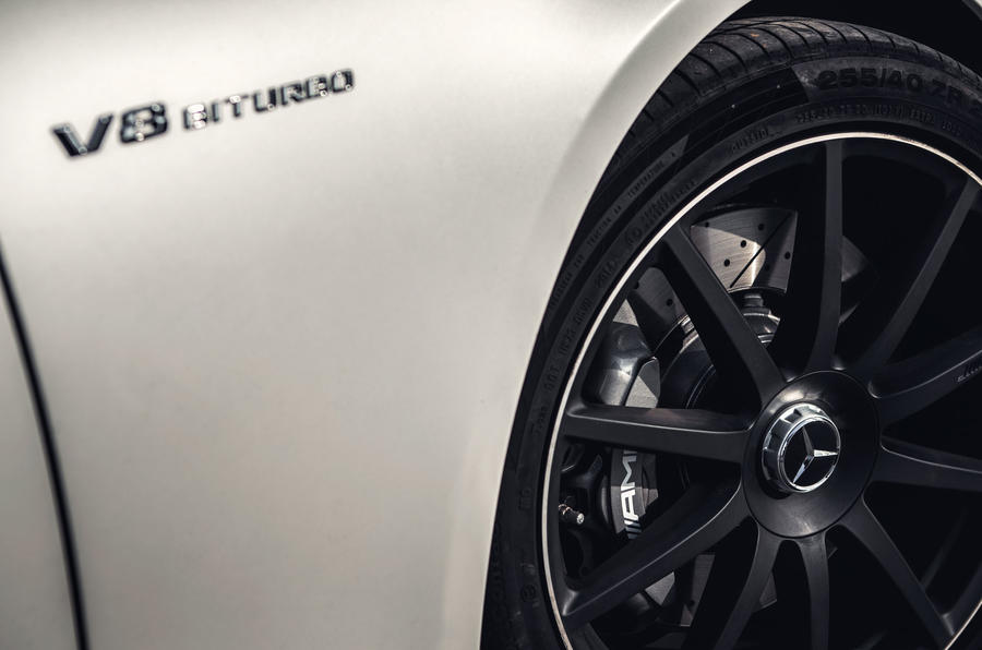 Mercedes-AMG S 63 black alloy wheels