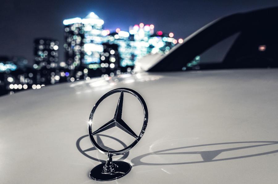 Mercedes-AMG S 63 bonnet ornament