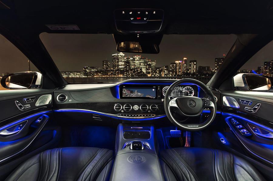 Mercedes-AMG S 63 dashboard