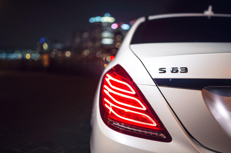 Mercedes-AMG S 63 rear lights