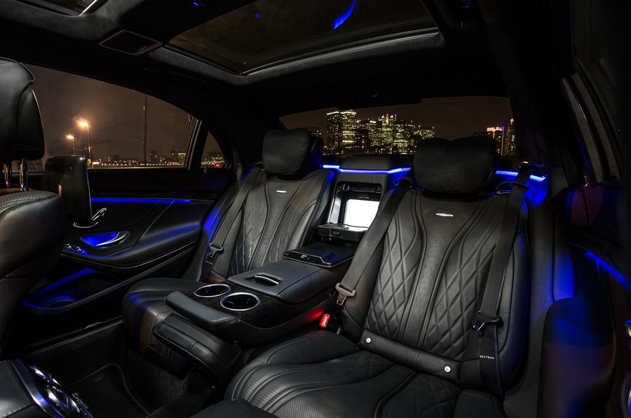 Mercedes-AMG S 63 rear seats