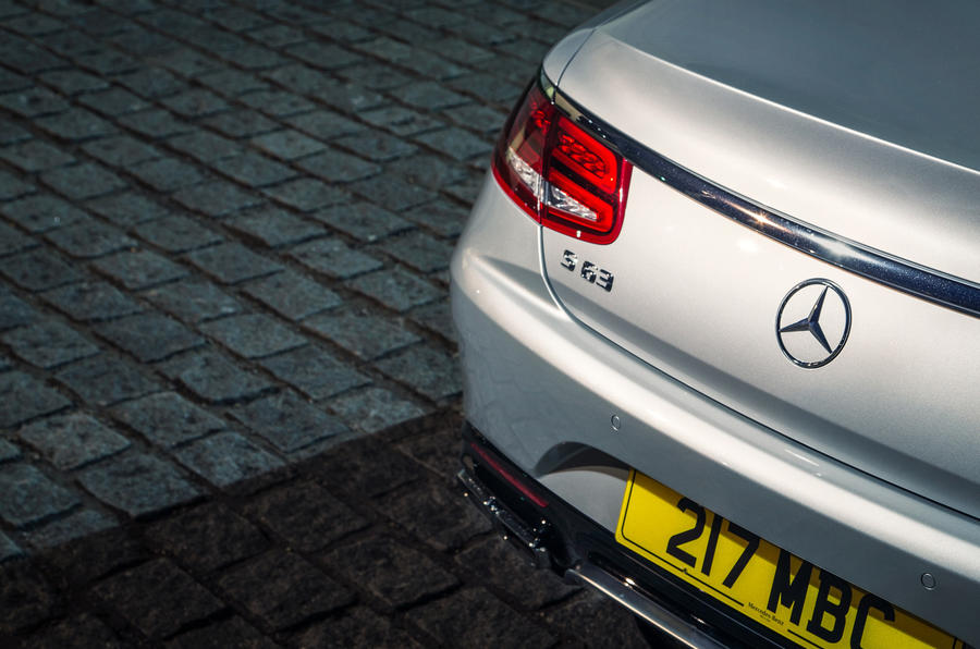 Mercedes-AMG S 63 Coupé badging