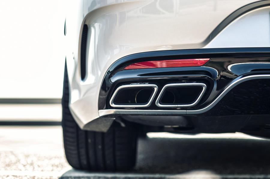 Mercedes-AMG S 63 Coupé exhaust system