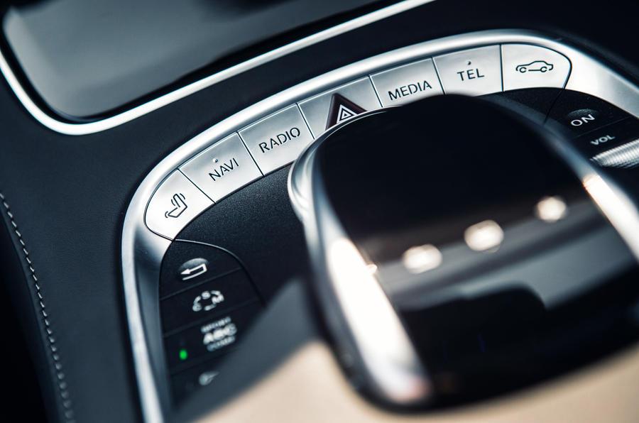 Mercedes-AMG S 63 Coupé infotainment controller