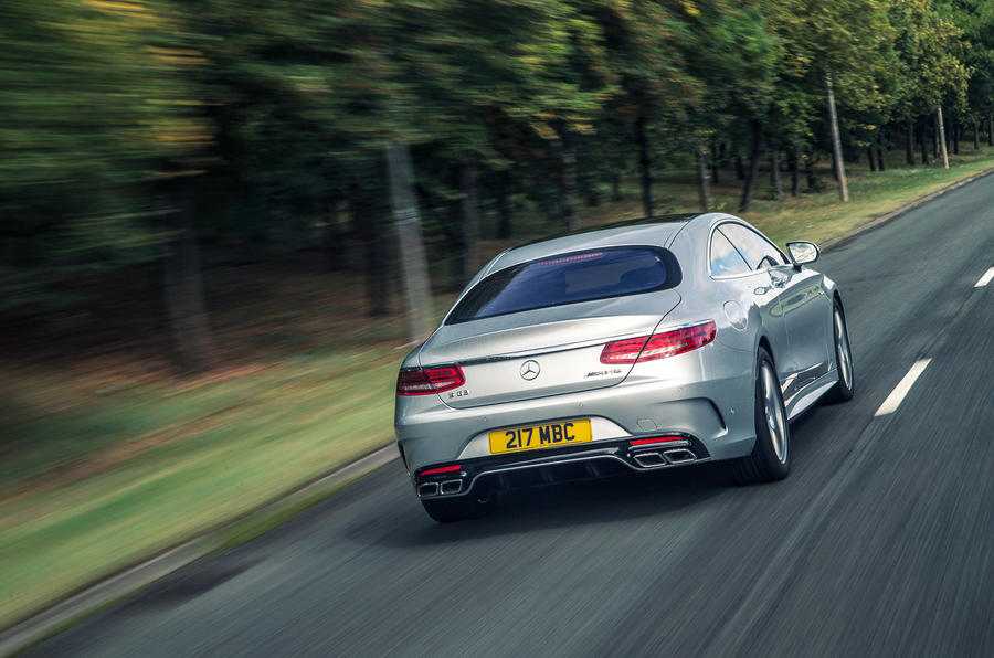 Mercedes-AMG S 63 Coupé rear cornering