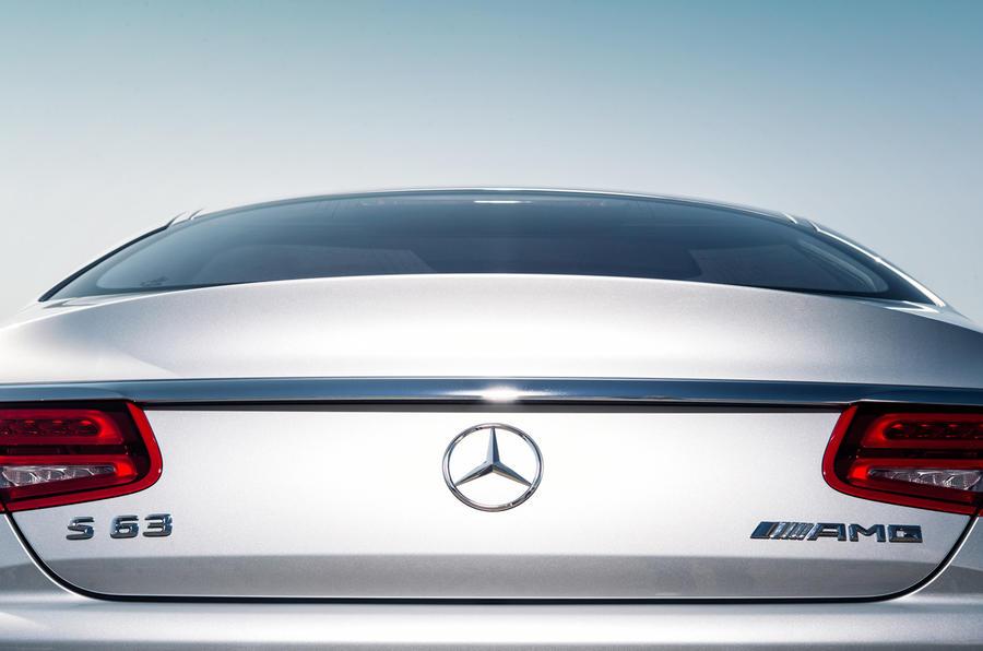 Mercedes-AMG S 63 Coupé rear lights