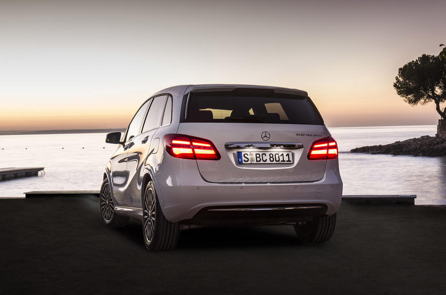 Mercedes-Benz B-Class Electric Drive rear