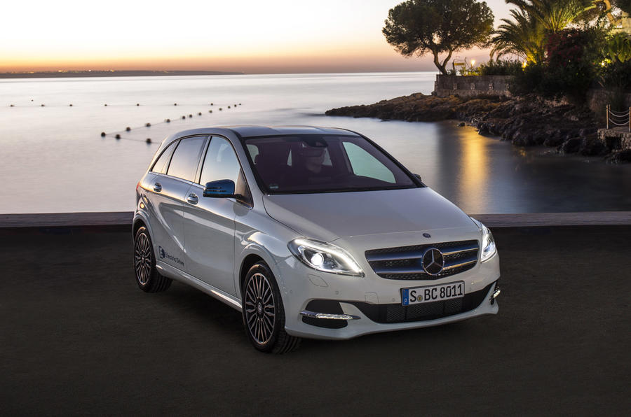 Mercedes Benz B Class Electric Drive Review 2019 Autocar