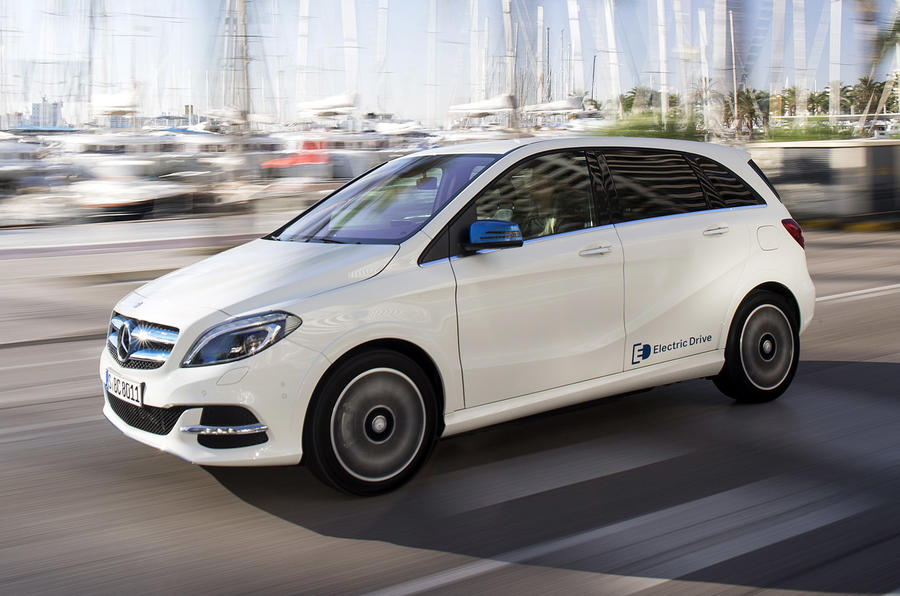 mercedes benz b class electric drive review 2018 autocar