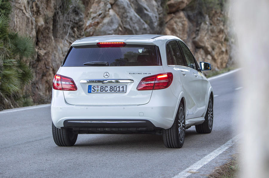 B-Class Electric Drive rear quarter