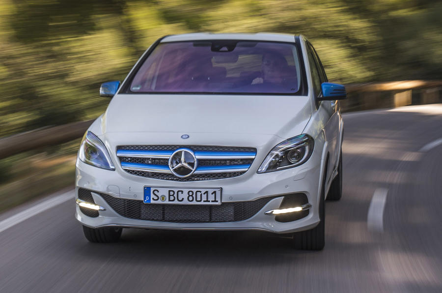 Mercedes-Benz Electric Drive front end