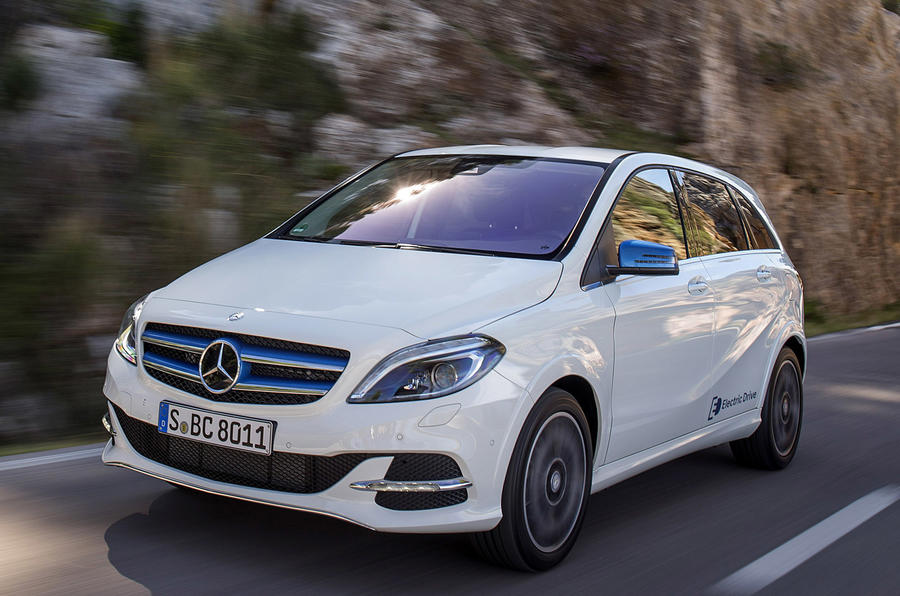 Mercedes benz b class electric drive first drive for B series mercedes benz