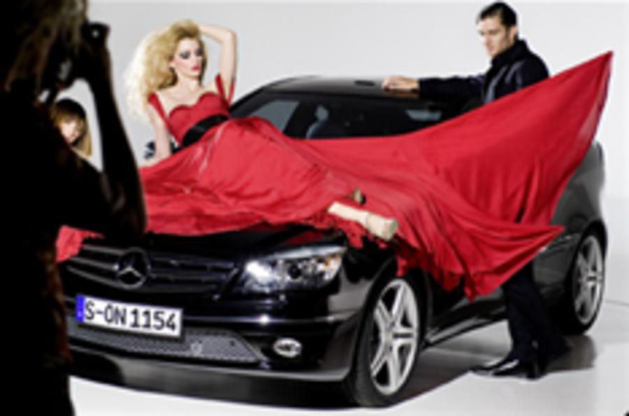 Mercedes CLC teaser images