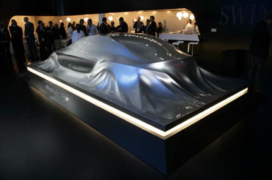 Geneva motor show: Merc CLS concept