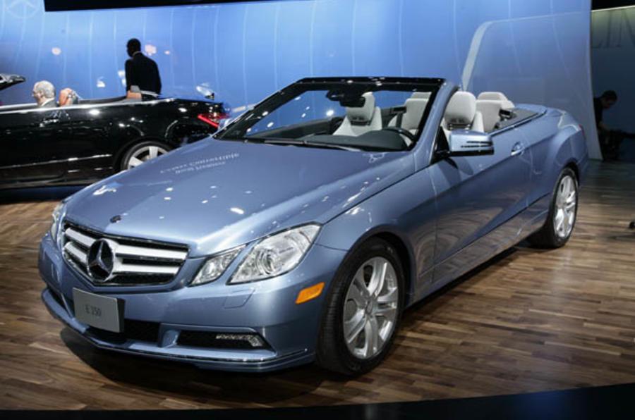 Detroit motor show: E-class cabrio