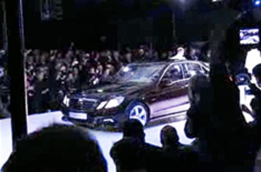 Mercedes E-class revealed