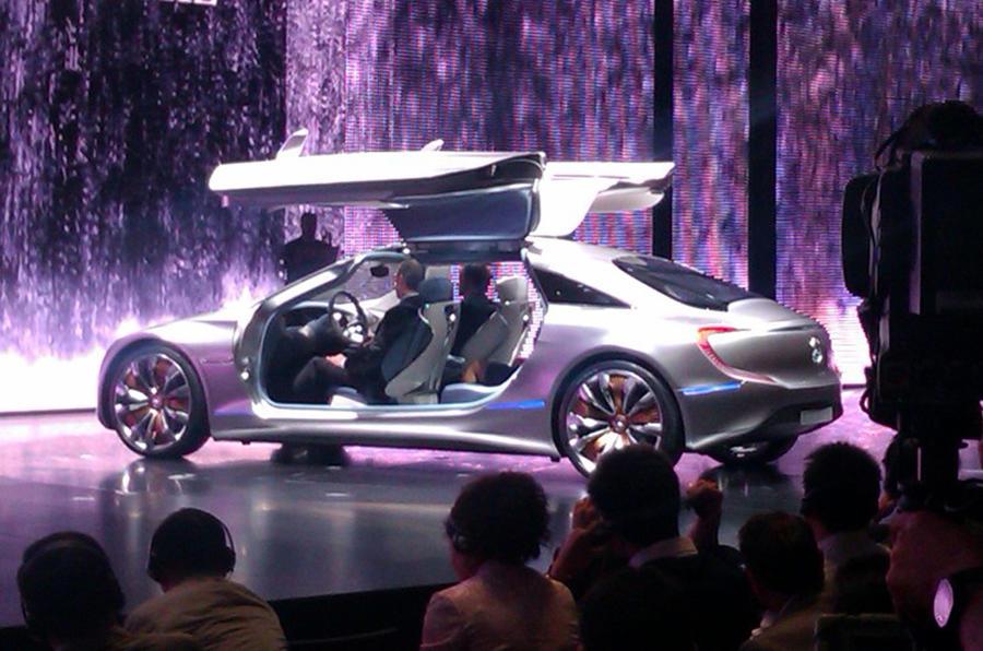 Frankfurt motor show: Mercedes F125