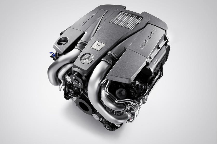 AMG's new 5.5 V8 for the S63