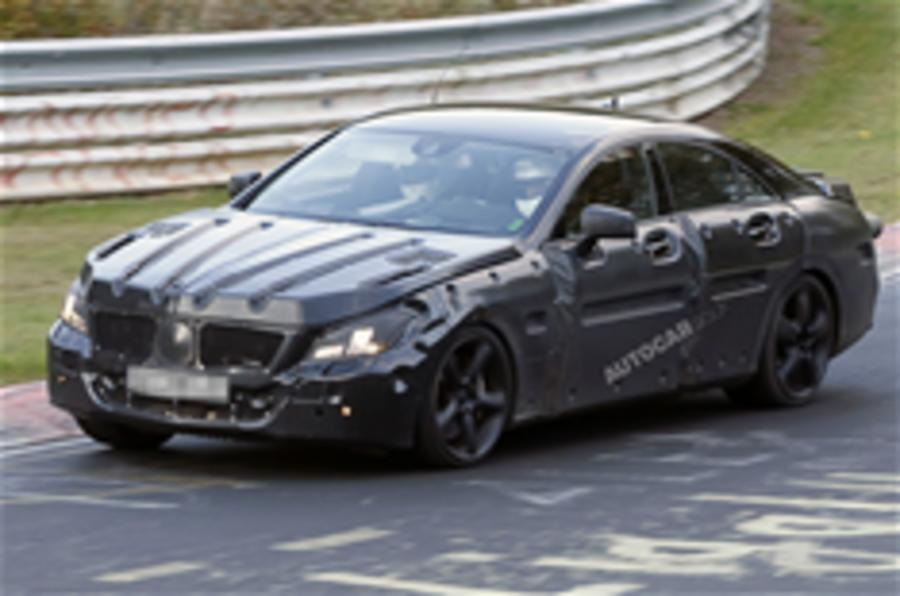 CLS63 AMG spied