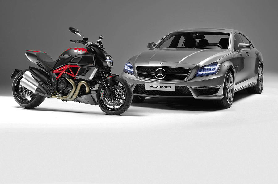 AMG to collaborate with Ducati