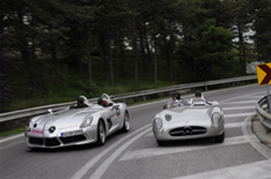 Merc speedster visits Mille Miglia