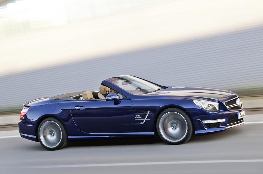 Mercedes unveils SL65 AMG