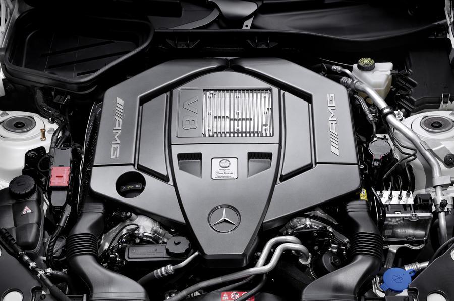 Merc SLK55 AMG's new 5.5 V8