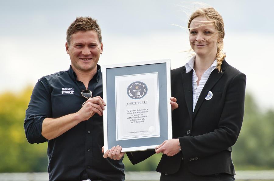 Drifter smashes world record