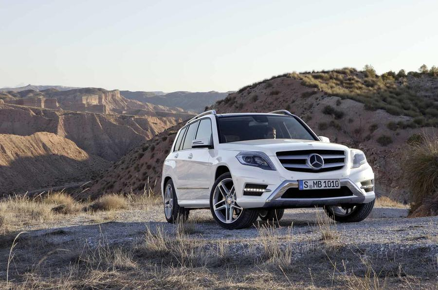 New York show: Mercedes GLK