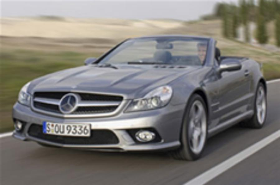 Revealed: New Mercedes SL